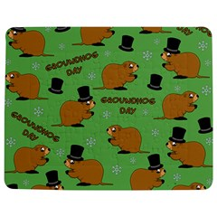 Groundhog Day Pattern Jigsaw Puzzle Photo Stand (rectangular)