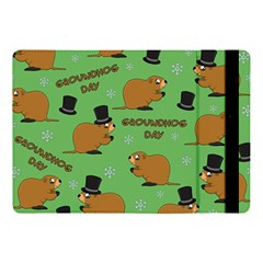 Groundhog Day Pattern Apple Ipad Pro 10 5   Flip Case