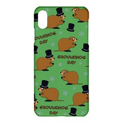 Groundhog Day Pattern Apple Iphone  Xs Max Hardshell Case