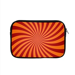 Spiral Swirl Background Vortex Apple Macbook Pro 15  Zipper Case by Mariart