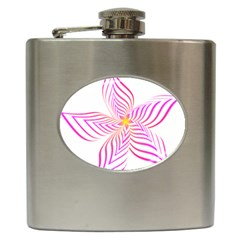 Petal Flower Hip Flask (6 Oz)
