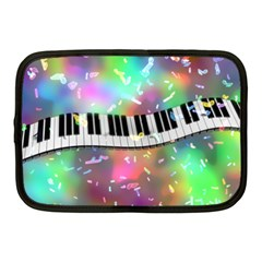 Piano Keys Music Colorful Netbook Case (medium)