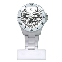 Illustration Skull Plastic Nurses Watch
