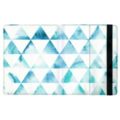 Hipster Triangle Pattern Apple Ipad 2 Flip Case