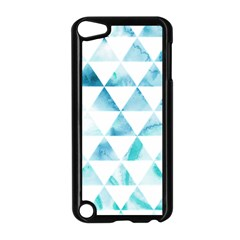 Hipster Triangle Pattern Apple Ipod Touch 5 Case (black) by AnjaniArt