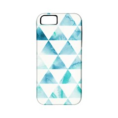 Hipster Triangle Pattern Apple Iphone 5 Classic Hardshell Case (pc+silicone)
