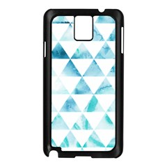 Hipster Triangle Pattern Samsung Galaxy Note 3 N9005 Case (black)