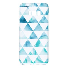 Hipster Triangle Pattern Samsung Galaxy S8 Plus Hardshell Case