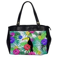 Leaves Tropical Nature Green Plan Oversize Office Handbag