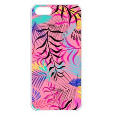 Illustration Reason Leaves Apple Iphone 5 Seamless Case (white)
