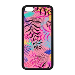 Illustration Reason Leaves Apple Iphone 5c Seamless Case (black) by AnjaniArt