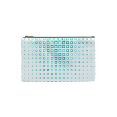 Plaid Green Cosmetic Bag (small)