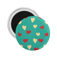 Love Heart Valentine 2 25  Magnets by AnjaniArt