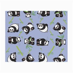 Panda Tile Cute Pattern Small Glasses Cloth