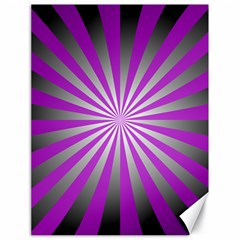 Purple Abstract Background Canvas 18  X 24