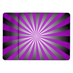 Purple Abstract Background Samsung Galaxy Tab 10 1  P7500 Flip Case