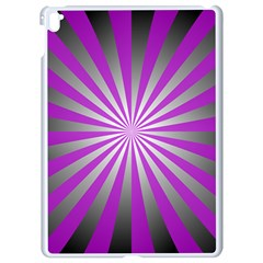 Purple Abstract Background Apple Ipad Pro 9 7   White Seamless Case