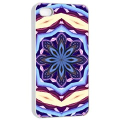 Mandala Apple Iphone 4/4s Seamless Case (white) by AnjaniArt