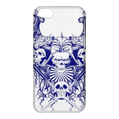 Katana Skull Apple Iphone 5c Hardshell Case