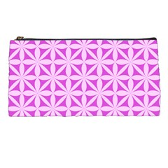 Magenta Wallpaper Seamless Pattern Pencil Cases