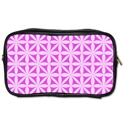 Magenta Wallpaper Seamless Pattern Toiletries Bag (one Side)