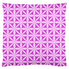 Magenta Wallpaper Seamless Pattern Standard Flano Cushion Case (one Side)
