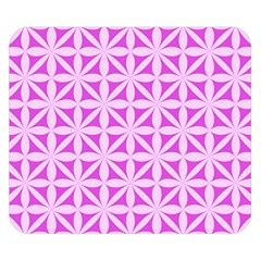 Magenta Wallpaper Seamless Pattern Double Sided Flano Blanket (small)
