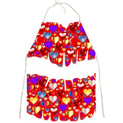 Heart Lips Kiss Romance Passion Full Print Aprons