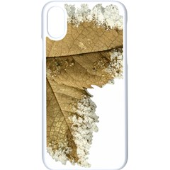 Leaf Edge Apple Iphone X Seamless Case (white) by Jojostore