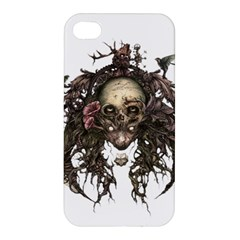 Illustration   Skull Apple Iphone 4/4s Premium Hardshell Case