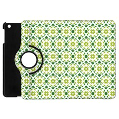 Leaves Floral Flower Flourish Apple Ipad Mini Flip 360 Case
