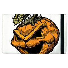 Lantern Halloween Pumpkin Illustration Apple Ipad Pro 12 9   Flip Case by Jojostore