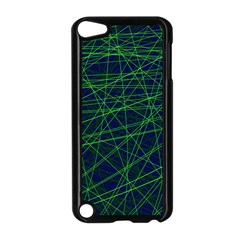 Line Geometric Blue Object Tinker Apple Ipod Touch 5 Case (black) by Jojostore