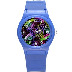 Leaves Nature Round Plastic Sport Watch (s)