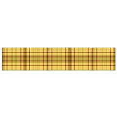 Plaid Seamless Gold Butterscotch Small Flano Scarf