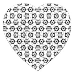 Seamless Star Jigsaw Puzzle (heart)