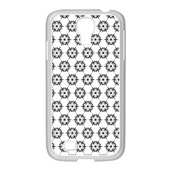 Seamless Star Samsung Galaxy S4 I9500/ I9505 Case (white)
