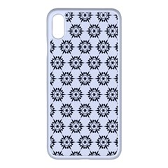 Seamless Star Apple Iphone Xs Max Seamless Case (white)