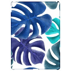 Leaves Tropical Blue Green Nature Apple Ipad Pro 12 9   Hardshell Case by Alisyart