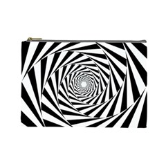 Pattern Texture Spiral Cosmetic Bag (large)