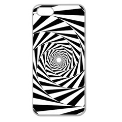 Pattern Texture Spiral Apple Seamless Iphone 5 Case (clear)