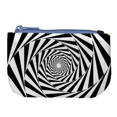 Pattern Texture Spiral Large Coin Purse by Alisyart