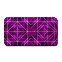 Purple Triangle Pattern Medium Bar Mats