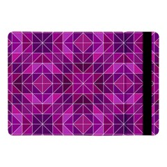Purple Triangle Pattern Apple Ipad Pro 10 5   Flip Case