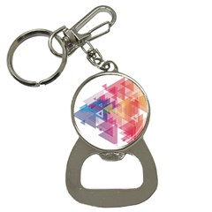 Science And Technology Triangle Bottle Opener Key Chains
