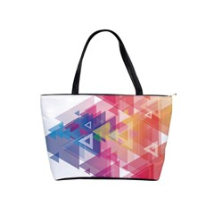 Science And Technology Triangle Classic Shoulder Handbag by Alisyart