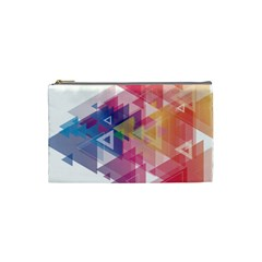 Science And Technology Triangle Cosmetic Bag (small)
