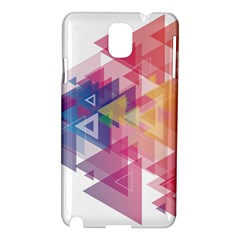Science And Technology Triangle Samsung Galaxy Note 3 N9005 Hardshell Case