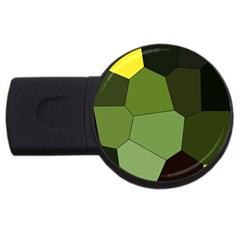 Mosaic Structure Background Tile Usb Flash Drive Round (4 Gb)