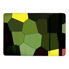 Mosaic Structure Background Tile Samsung Galaxy Tab Pro 10 1  Flip Case by Pakrebo